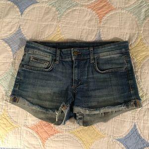 Joe denim shorts